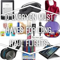 flight travel essentials