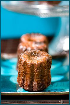 chocolate, ginger and cardamom canneles