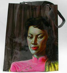 Miss Wong, Vladimir Tretchikoff bag at Notorious Kitsch