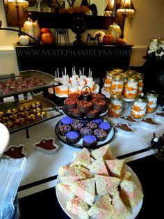 Super Easy Treats for My Simple Halloween Dessert Table
