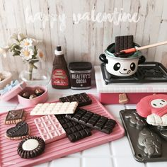 iPhone Gu : No.417 >>> [ IG - ooyoyoo ]  #toy #rement #miniature #tiny #dollhouse #toys #yotsuba #holiday #cute #food #house #mini #home #delicious #cake #sweet  #kitty #kitchen #chocolate #valentine #pink