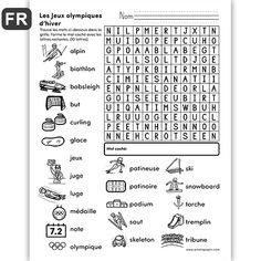 French Teaching Resources, Teaching French, School Resources, Teaching Tools, Weightlifting For Beginners, School Organisation, French Worksheets, Core French, Free In French