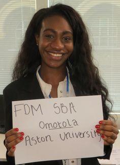 Meet our Aston University SBA...