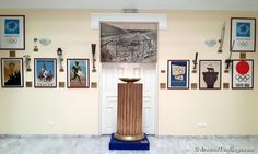 During every Olympic Torch Relay, the flame stops at Panathenaic Stadium and this cauldron is lit. Cauldron, Olympic Games, Olympics, Photo Galleries, Gallery Wall