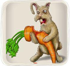 La zanahoria y el conejo. La Come Cuento   Carolina Plazas
