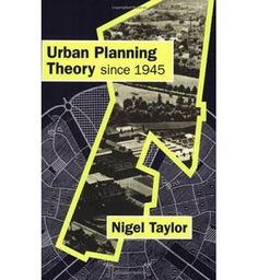 Perhaps a good reading list. Specifically the Urban Planning Theory book.