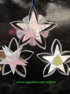 Simple Crafts: TP Roll Star Christmas Ornament