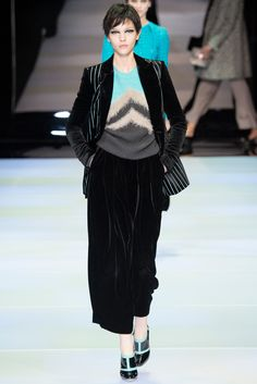 Emporio Armani Fall 2014 Ready-to-Wear - Collection - Gallery - Style.com