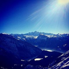 - Another day and a beautiful view of Mont Blanc. Blue Bird, Mount Everest, Skiing, Shots, Mountains, Travel, Life, Beautiful, Instagram