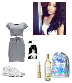 """I should be sleep."" by arion-turner on Polyvore featuring Boohoo, Hollywood Mirror, Dolce&Gabbana, Reebok, women's clothing, women's fashion, women, female, woman and misses"