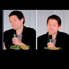 """I have like little small things that I wanna do....like rule the world..."" -Misha Collins<<<< LOVE MISHA!!!"
