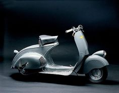 1945 Vespa inspiring a new retro model. Click-through to see it.