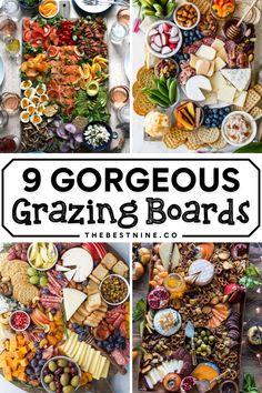 Best Appetizer Recipes, Best Appetizers, Grazing Tables, Best Cheese, Charcuterie Board, Board Ideas, Brunch, Boards, Fruit