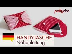 Handytasche selber nähen - Anleitung; pattydoo tutorial # 7