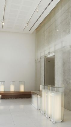 Can we place any tall floor lights like this to get some modd in? Jordan Invest Bank / Symbiosis Designs LTD