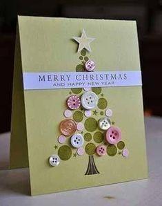 Biglietti auguri di Natale fai da te – varie idee - Paperblog