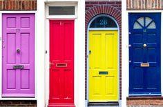 decoracao portas coloridas modelos dicas