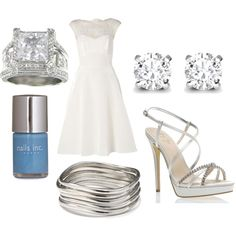 """""""Something blue...."""" by mollylsanders on Polyvore"""