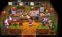 finished lil restaurant in department store c: