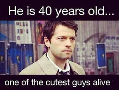 Yep! He's the our cutest angel with ocean blue eyes