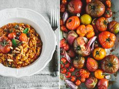 fruity tomatoe risotto