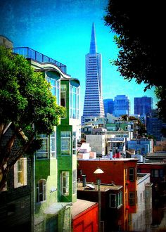 Transamerica Pyramid ~ San Francisco by tubblesnap, via Flickr