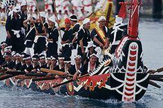 e_hari японская лодка сабани (драконья лодка)