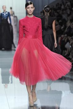 DIOR 2012 // love the color & skirt fabric