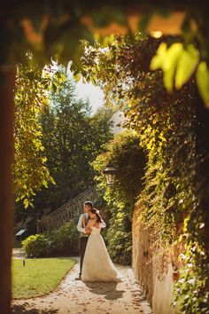 Pre Wedding Best of in Prague: a garden under Prague Castle: http://pragueweddingphotography.com