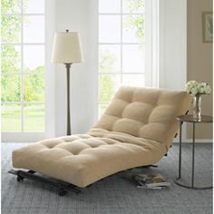 I would love to have a chaise like this where I could sit and read books all day long