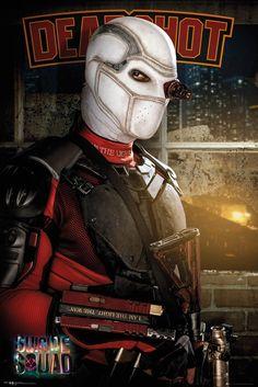 Esquadrão Suicida Posters Deadshot