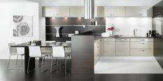 black white kitchen artwork