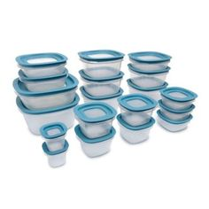 Keep your food fresh with the Rubbermaid Flex & Seal Food Storage Set. With matching flex & seal lids, to lock in freshness, these different sized containers are perfect for storing fruit, leftovers and more. Food Prep Storage, Glass Food Storage, Storage Sets, Food Storage Containers, Cyber Monday, Food Canisters, Storing Fruit, Aqua Bedding, Bedding Sets