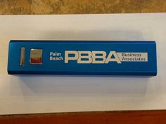 The benefits of membership.  This morning, every member received a free phone charger compliments of Palm Beach Business Associates and Shelly Newman.