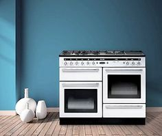 Rangemaster Hi-Lite 110 Dual Fuel Range Cooker:  http://www.ukhomeideas.co.uk/ideas/kitchen/range-cookers/rangemaster-launches-the-new-hi-lite-110-range-cooker/