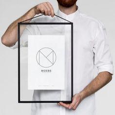 decovry.com+-+MOEBE+ +Frame+A3+ +Zwart