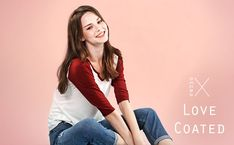 Amazon: Regna X Love Coated Women's Long Sleeve Basic Loos...
