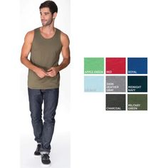 Need gift ideas for the the #males in your life? No need to worry. Nothing says comfortable like a fitted #tank! Check out The Gift Planner for more variety.