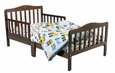 Dream On Me Classic Toddler Bed - Espresso - http://www.furniturendecor.com/dream-on-me-classic-toddler-bed-espresso/ - Related searches: Baby Products, Cribs and Nursery Beds, Furniture, Nursery, Nursery Furniture, Toddler Beds