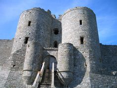 Harlech Castle Gatehouse - Wars of the Roses
