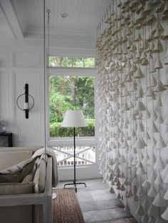 Ceramic Chime Wall Installation