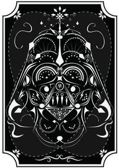 Star Wars On Acid by Michael Tesch, via Behance