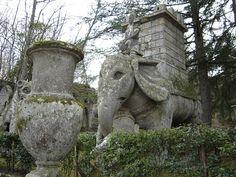 Garden of Bomarzo, Italy