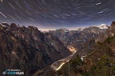 Val Cordevole by Night by Moreno Geremetta on 500px #Dolomiti #Dolomites #Dolomiten #Dolomitas