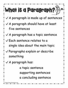 How to Write a Paragraph. Use these free paragraph writing worksheets to help children learn to write better paragraphs Writing Strategies, Writing Lessons, Writing Resources, Teaching Writing, Writing Activities, Essay Writing, Writing Process, Writing Ideas, Teaching Resources