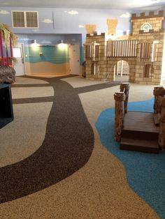 Safety Surface indoor application? YES! Check out Beary Best Academy!