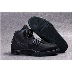 http://www.anike4u.com/ Nike Air Yeezy 2 Blackout Kanye West Mens Nike Yezzy Shoes SD19