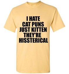 Cat Puns T-Shirt