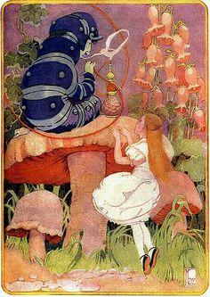 Alice e a Lagarta