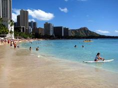 Honolulu Waikiki Beach